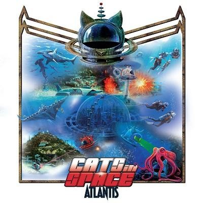 CATS IN SPACE - Atlantis (digi pack)