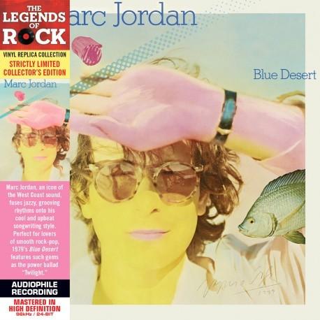 JORDAN, MARC - Blue Desert (LP mini sleeve, digitally remastered)