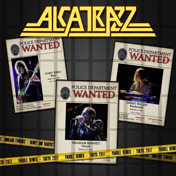 ALCATRAZZ - Parole Denied - Tokyo 2017 (2 CDs + DVD, digi pack)