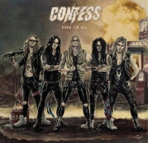 CONFESS - Burn'Em All
