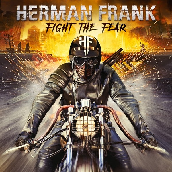 FRANK, HERMAN - Fight The Fear (ltd. edition digi pack)