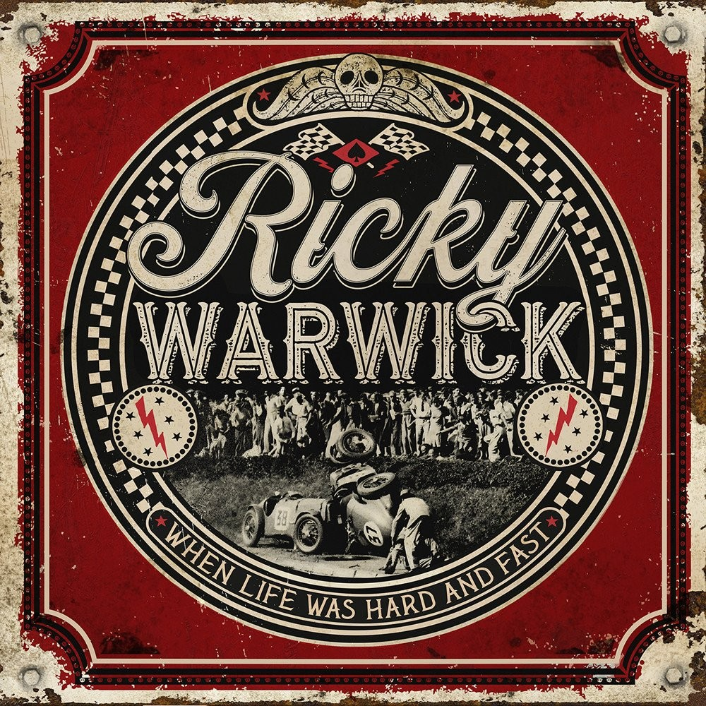WARWICK, RICKY - When Life Was Hard And Fast (2CDs, digi pack)