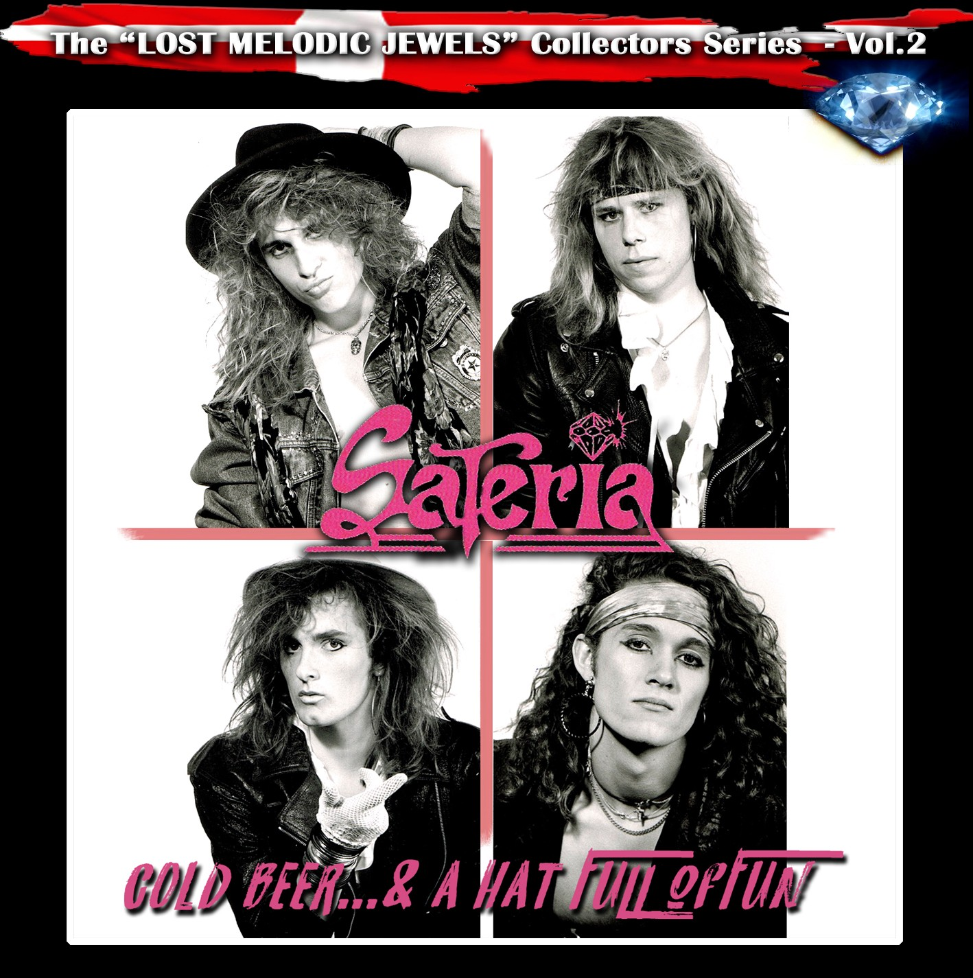 SATERIA - Cold Beer...& A Hat Full Of Fun (digitally remastered)