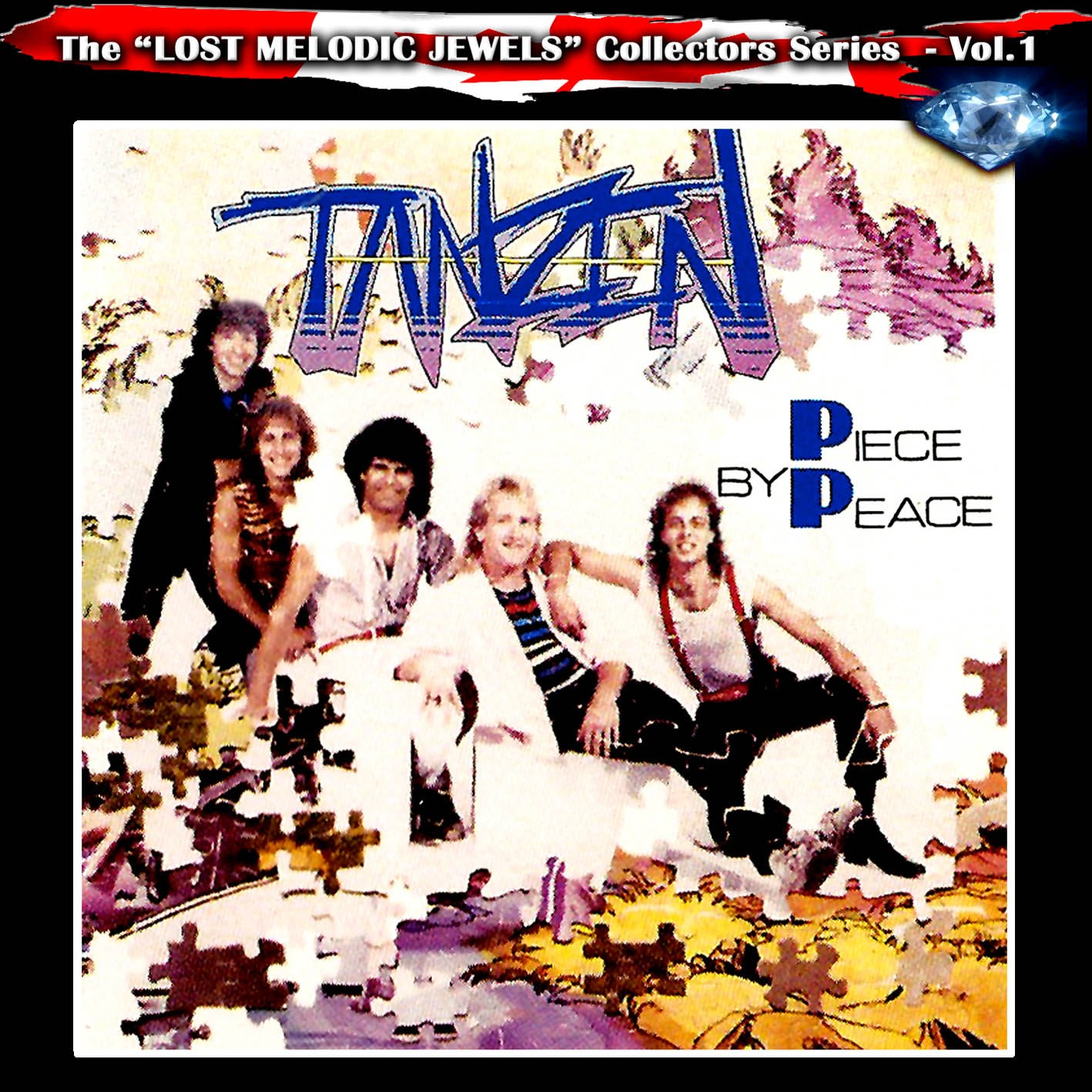 TANZEN - Piece By Peace +4 (digitally remastered)