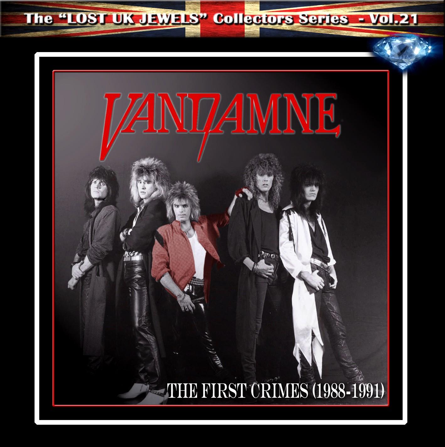 VANDAMNE - The First Crimes (digitally remastered)