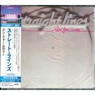 STRAIGHT LINES - Run For Cover (JAP CD, digitally remastered)